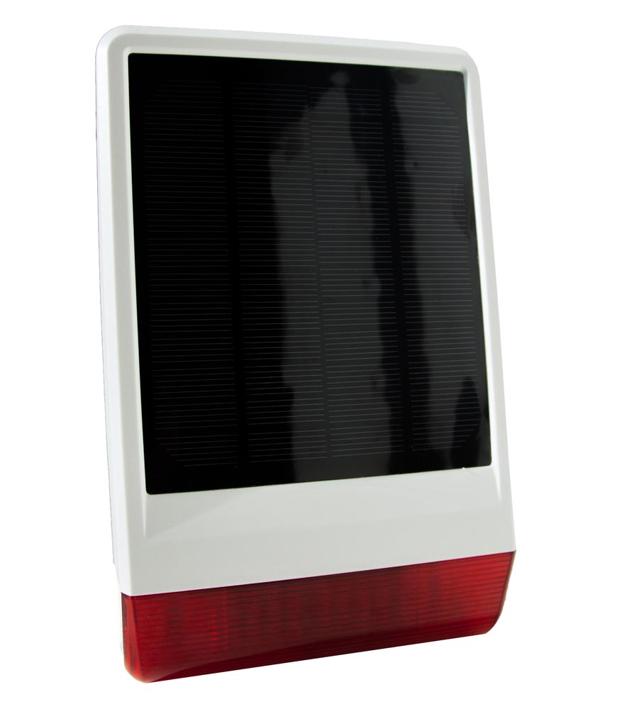 Solar Powered outdoor siren POPE005107
