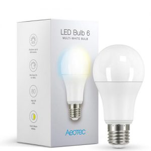 Aeotec Slimme LED Lamp 6 Multi Wit verpakking