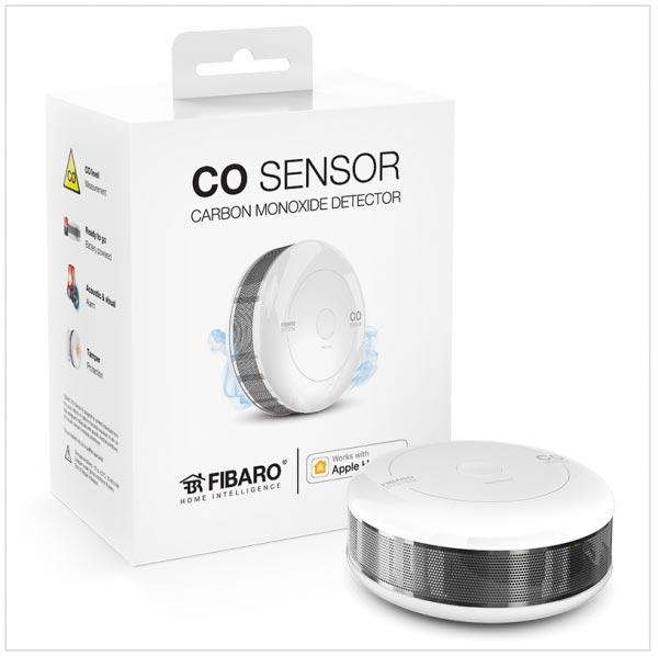 CO Sensor HomeKit Fibaro verpakking