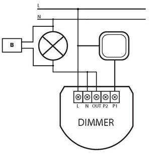 Fibaro Dimmer Bypass www.xura.nl FIB-FGB-001