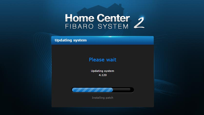 Fibaro 4120 Software Update 2017