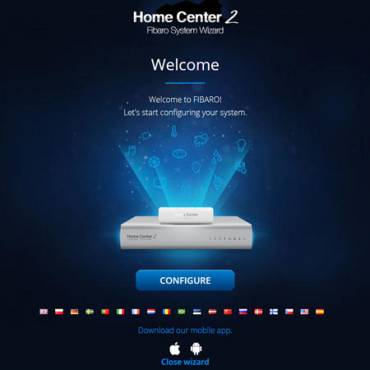 Wat is Fibaro System Wizard