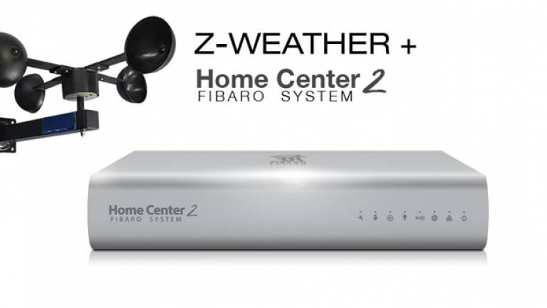 Z-Weather integreren met Fibaro Home center